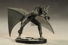 Batman Black White Man-bat statue by DC Direct