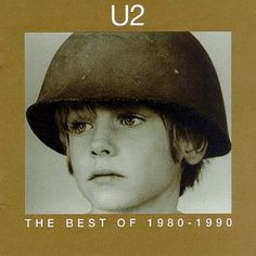 "The Best of album cover, c.1990 with the ""U2 Boy"" Peter Rowan"
