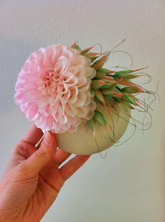 Bibi blush handmade in Vienna by Verhutung