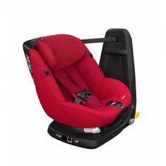 SILLA DE AUTO BÉBÉ CONFORT AXISSFIX: últimos adelantos en seguridad. Rota 360º para facilitar su uso. Puede usarse a contramarcha hasta los 2 años, y en el sentido de la marcha hasta los 4. Se adapta al crecimiento del bebé y cumple con la normativa I-size.