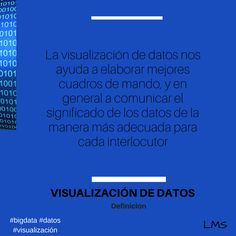 La visualización de