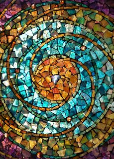 glass on glass mosaic tips