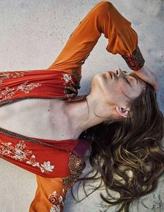 Marlena Szoka for Marie Claire Spain May 2015 - Gucci Hippie Style, Bohemian Style, Boho Chic, My Style, Bohemian Gypsy, Orange Twist, Orange Color, Orange Style, Marie Claire