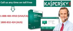 are you searching support for kaspersky antivirus ?