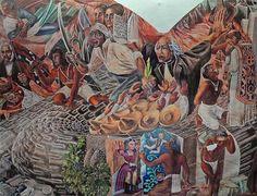 Estación de Bellas Artes exhibe obra de Aurora Reyes