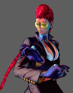 """Crimson Viper (C.Viper) was introduced into the Street Fighter world with the release of """"Street Fighter IV"""". CAPCOM stated that they wanted a character that would appeal to American fans. Many people feel her design was influenced by Angelina Jolie's character in """"Mr & Mrs Smith""""."""