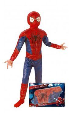disfraz the amazing spiderman 2 para nio en caja