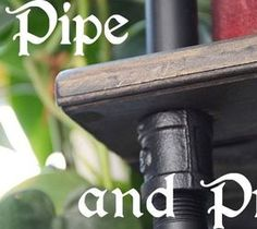 DIY Interesting And Useful Ideas For Your Home: DiY Black Pipe and Pine Industrial Shelves