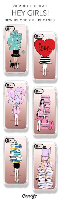 HEY GIRLS! It's time to go shopping! 20 Most Popular HEY GIRLS iPhone 7 Cases & iPhone 7 Plus Cases here > https://www.casetify.com/artworks/ud2ZM28nhf