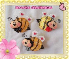 broche abelhas