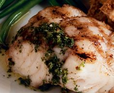 Bonefish Grill recipe - Chimichurri Sauce. Garlicky, fresh herb sauce. Simple and versatile. Delicious with anything from fish to steak.