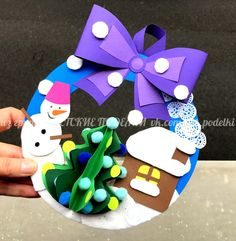 Christmas Art, Christmas 2019, Christmas Decorations, Xmas, Diy And Crafts, Crafts For Kids, Bucket And Spade, Santa Crafts, Theme Noel