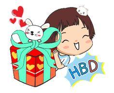 Happy Birthday Candles, Happy Birthday Fun, Happy Birthday Greetings, Birthday Wishes, Cute Cartoon Characters, Cartoon Art, Happy Bird Day, Emoji Images, Gif Collection