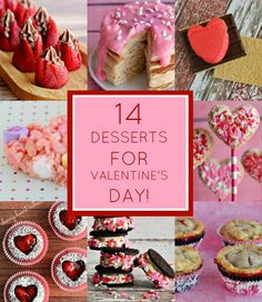 14 Valentine's Day Desserts for February 14th {with LINKY}