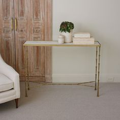 Studio A Spike Console Table - 7.90459