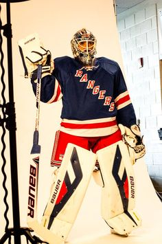 Henrik Lundqvist - NHL Media Day (via NHL on NBC Sports | Facebook)