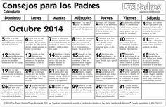 calendario escolar escuela secundaria octubre 2014