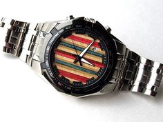 Skate Watch  Recycled Skateboards  Wrist Watch Made by SecondShot, $245.00