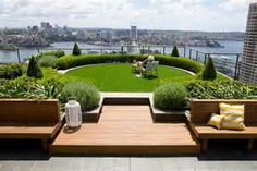 In case you doesn't live in suburbs but want a beautiful garden - don't worry. We've gathered lots of small urban garden design ideas for your inspiration. Landscape Architecture, Landscape Design, Green Architecture, Sustainable Architecture, Residential Architecture, Contemporary Architecture, Small Urban Garden Design, Urban Design, Garden Modern