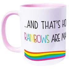 ... and that's how rainbows are made