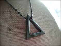 The+Bermuda+Triangle+~+Percy+Jackson+Sea+of+Monsters+Necklace
