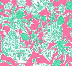 Lilly Pulitzer: this makes me want to be somewhere warm, with a fancy umbrella drink.