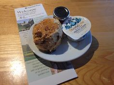 5 out of 5 for the Fountains Abbey scone!