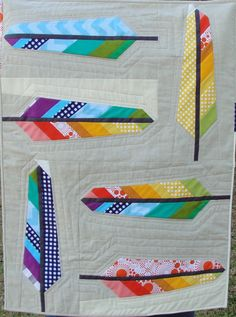 Stitchy Quilt Stuff: Riley Blake Feather Quilt