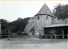 Der Schweinehirtenturm (der oben das berühmte Häuschen am Höpperle hatte) - Foto: Stadtarchiv Schweinfurt
