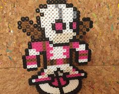 Gwenpool Perler with Stand