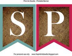 free printable spring banner