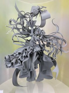 Anime Figures, Action Figures, Anime Dolls, Character Modeling, Zbrush, Vocaloid, Sculpture Art, Amazing Art, Character Design