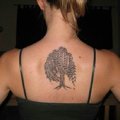 My Willow Tree Tattoo