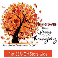 Give thanks for each new morning with its light, for rest & shelter of the night, for health & food for love & friends, for everything thy goodness sends... Gemsforjewels wishes & thanks all its admirers & customers  for the faith & love they have in us.