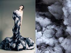 Hily Designs: Impresionantes fotos de diseños de Moda inspirados en la naturaleza
