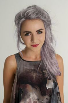 If I ever ventured away from red/auburn hair, it want grey/purple hair.