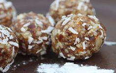 A2K - A Seasonal Veg Table: Ginger or Orange Raw Fruit Bites