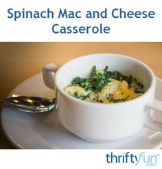 This is a guide about spinach mac and cheese casserole. Adding spinach to your favorite mac and cheese casserole not only adds flavor, but makes the dish more healthy as well.