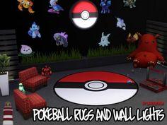 Akisima Sims Blog: Pokemon Carpets & Wall Lamps • Sims 4 Downloads