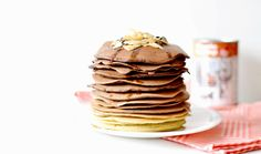 Ombre Cacao Pancakes