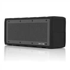 BRAVEN BRV-HD Wireless Bluetooth Speaker [28 Hour Playtime][Water Resistant] Built-In 8800 mAh Power Bank Charger - Black  http://topcellulardeals.com/product/braven-wireless-hd-bluetooth-speaker-retail-packaging-black/?attribute_pa_customerpackagetype=standard-packaging  Shock-absorbent rubberized exterior with aircraft-grade aluminum grill. Internal power bank to charge external devices, including tablets. Experience revolutionary SRS WOW HD sound.