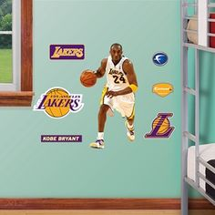 Lakers Room Kit Collection available at WallDecorShops.com