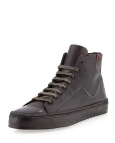Love the True Religion Quest Leather Mid-Top Sneaker, Gray on Wantering | Sneaks and Kicks | mens black leather mid tpl sneaker | mens shoes | menswear | mens style | mens fashion | wantering http://www.wantering.com/mens-clothing-item/quest-leather-mid-top-sneaker-gray/agBGv/