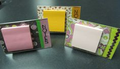 Acrylic Post It Note Holder