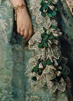 1855 María Josefa Coello de Portugal y Quesada by Federico Madrazo y Kunz