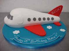 best airplane cakes images on airplane cakes airplane cakes ideas airplane cake architectures vintage plane cake ideas airplane cake ideas for adults disney airplane cake ideas Baby Boy Cakes, Cakes For Boys, Fondant Cake Toppers, Cupcake Cakes, Airplane Birthday Cakes, Airplane Cakes, Planes Cake, Novelty Cakes, Fancy Cakes
