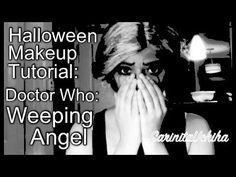 Weeping Angel Makeup tutorial