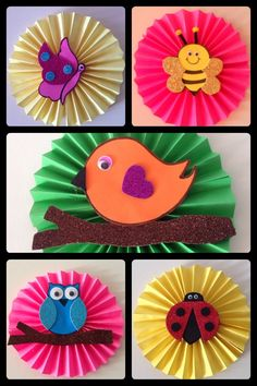 - Spring Crafts For Kids Kids Crafts, Spring Crafts For Kids, Creative Crafts, Preschool Crafts, Art For Kids, Diy And Crafts, Arts And Crafts, Paper Crafts, Art N Craft