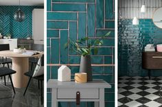 Topps Tiles: Lampas Peacock unveiled as Tile of the Year 2019 - Wall Tiles Zen Bathroom, Modern Bathroom, Master Bathroom, Bathroom Ideas, Bathroom Wall Tiles, Tile Bathrooms, Minimalist Bathroom, Basement Bathroom, Bathroom Designs