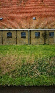 Farmstead, near Hidaard, Friesland (NL) The Province, Trail, Stage, Coast, House Styles, Outdoor Decor, Scene